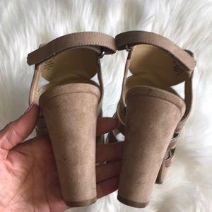 Naturalizer Shoes - Naturalizer woman's shoes heels Sandals 10 M tan